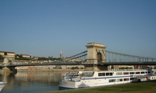 Zdjecie WĘGRY / brak / Budapeszt / Nad pięknym modrym Dunajem