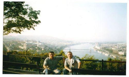 Zdjecie WĘGRY / Węgry / Budapeszt / Budapeszt ze Wzgórza Gellerta