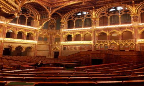 Zdjecie WĘGRY / północ kraju / Budapeszt / Parlament w Budapeszcie
