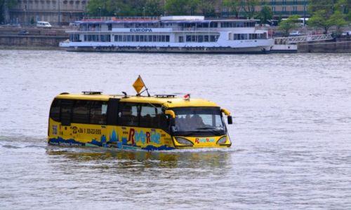 WĘGRY / Budapeszt / Dunaj / Podróżując .... autobusem