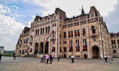 Zdjecie W�GRY / Budapeszt / Parlament / Wizyt�wka Budap