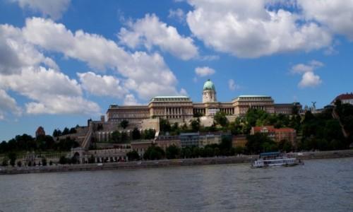 Zdjęcie WĘGRY / - / Budapeszt  / -zamek królewski -