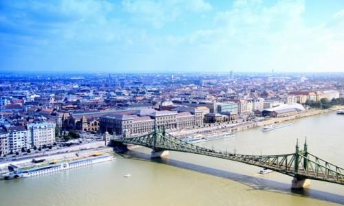 Zdjecie W�GRY / Budapeszt / Budapeszt / Ze Wzg�rza Gell
