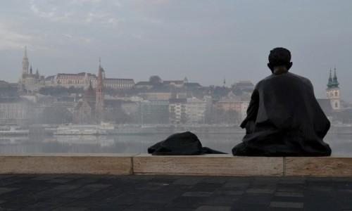 Zdjęcie WĘGRY / Budapeszt / nad Dunajem / Patrząc na Dunaj