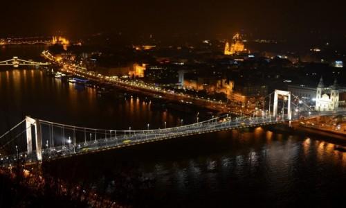 Zdjecie WĘGRY / Budapeszt / Wzgórze Gellerta / Most Elżbiety