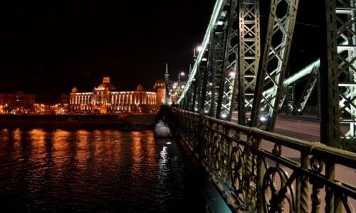 Zdjecie WĘGRY / Budapeszt / most Wolności / Z mostu Wolnośc