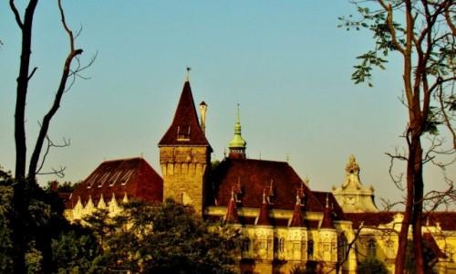 Zdjęcie WĘGRY / City Park / Budapeszt / Budapeszt-zamek Vajdahunyad z 1904 roku