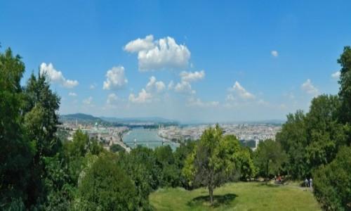 Zdjecie WĘGRY / Góra Gellerta. / Budapeszt. / Panorama na Bud