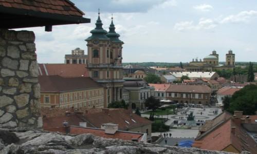 Zdjęcie WĘGRY / Komitat Heves / Eger / Widok z egerskiego zamku