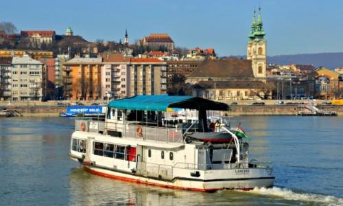 Zdjęcie WĘGRY / - / Budapeszt / Nad Dunajem