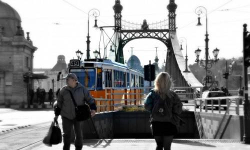 Zdjecie WĘGRY / - / Budapeszt / Na przystanku
