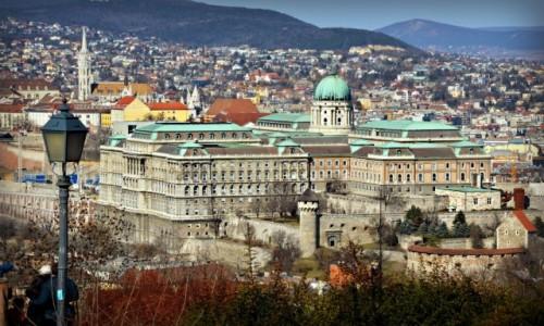 Zdjecie WĘGRY / - / Budapeszt / Z widokiem na zamek
