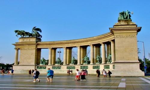 WĘGRY / City Park / Budapeszt / Budapeszt- plac Bohaterów