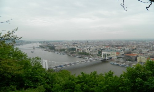 Zdjęcie WĘGRY / Góra Gellerta. / Góra Gelleta. / Budapest z Góry Gellerta.