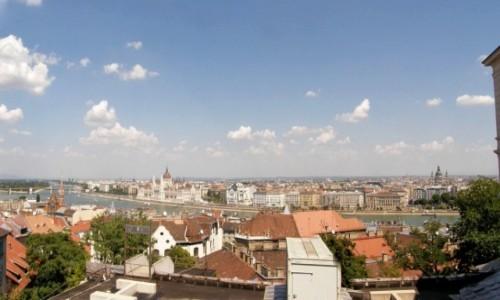 Zdjecie WĘGRY / Budapeszt. / Wzgórze Gellerta. / Budapeszt - Panorama ze Wzgórza Gellerta.