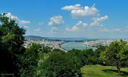 Zdjęcie WĘGRY / Budapeszt. / Góra Gellerta. / Budapeszt z Góry Gellerta.