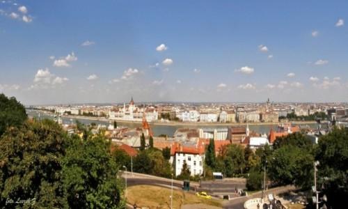 Zdjęcie WĘGRY / Budapeszt. / Góra Gellerta. / Panorama Budapesztu.