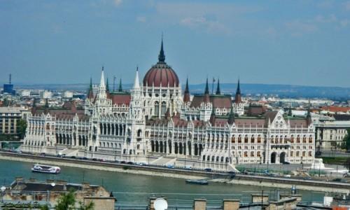Zdjecie WĘGRY / Budapeszt. / Góra Gellerta. / Budapeszt - Parlament.