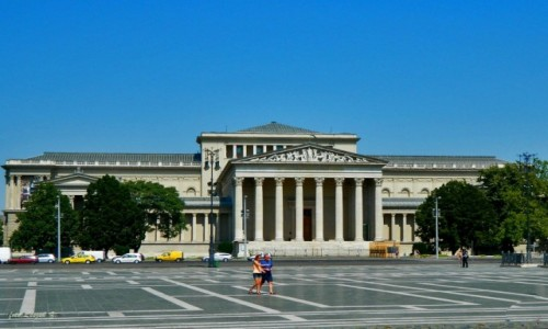 Zdjecie WĘGRY / Budapeszt. / Budapeszt - Plac Bohaterów.  / Budapeszt - Muzeum Sztuk Pięknych.