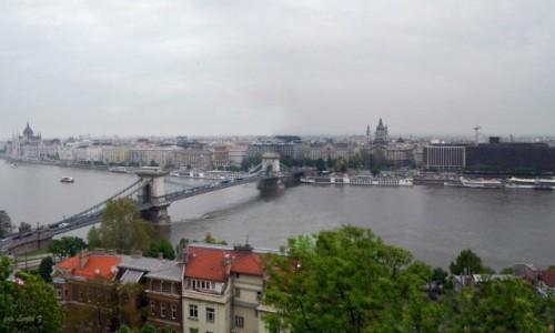Zdjecie WĘGRY / Budapeszt / Góra Gellerta. / Budapeszt z Góry Gellert - Panorama.