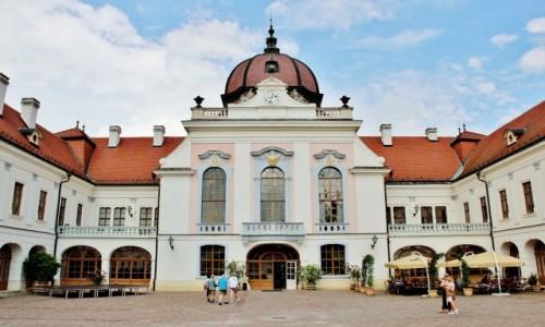 WĘGRY / komitat Pest / Godollo / Pałac Królewski w Godollo
