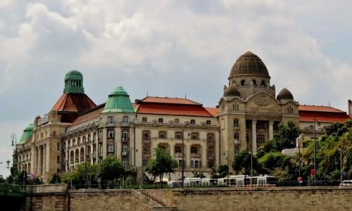 Zdjecie WĘGRY / komitat Budapeszt / Budapeszt / Hotel Gellert z 1918 roku
