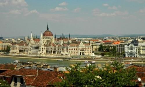 Zdjecie WĘGRY / Budapeszt. / Góra Zamkowa. / Budapeszt - Parlament.