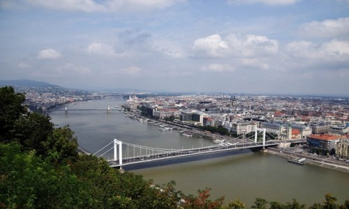 Zdjecie WĘGRY / Budapeszt / Budapeszt / Budapeszt z wzgórza Gellerta