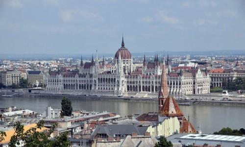 Zdjecie WĘGRY / Budapeszt / Budapeszt / Parlament w Budapeszcie