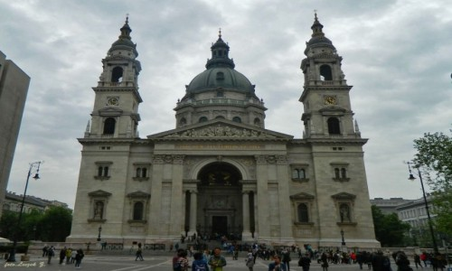 Zdjecie WĘGRY / Budapeszt. / Budapeszt. / Budapeszt - Bazylika św. Stefana.