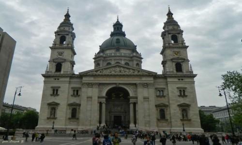 WĘGRY / Budapeszt. / Budapeszt. / Budapeszt - Bazylika św. Stefana.