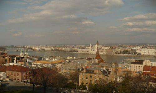 Zdjecie WĘGRY / Budapeszt / Wzgórze Zamkowe / Widok ze Wzgórza Zamkowego