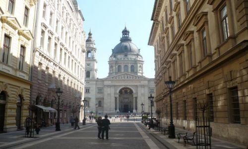 Zdjecie WĘGRY / Budapeszt / BAzylika / Bazylika św.Stefana