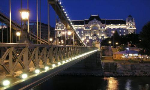 Zdjecie WĘGRY / Budapeszt / Budapeszt / Budapeszt nocą