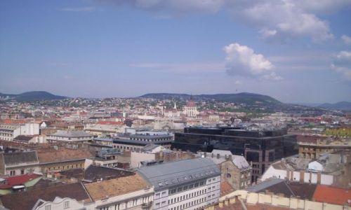 Zdjecie WĘGRY / brak / Budapeszt / Widok z wieży katedry Św. Stefana