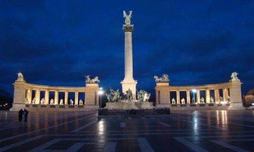 Zdjecie WĘGRY / Budapeszt / Plac Bohaterów / Budapeszt-Plac Bohaterów