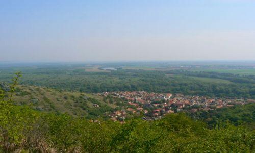 WĘGRY / Północne Węgry / Tokaj / Widok z Łysej Góry na Tokaj