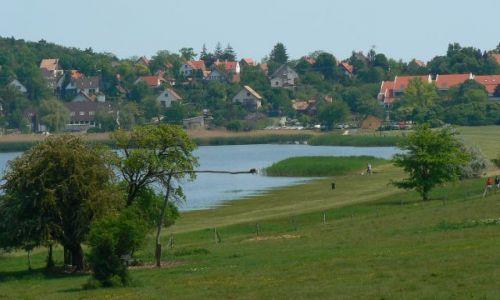 WĘGRY / Nad  Balatonem / Tihany / Jezioro Wewnętrzne (Belso) -płw. Tihany