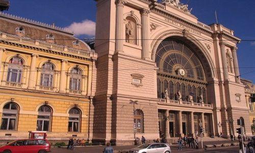WĘGRY / Budapeszt / Budapeszt / Dworzec Keleti