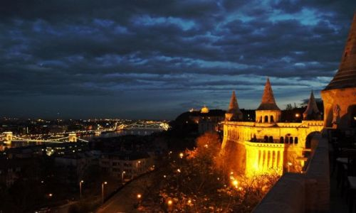 Zdjecie WĘGRY / - / Budapeszt / Budapeszt nocą