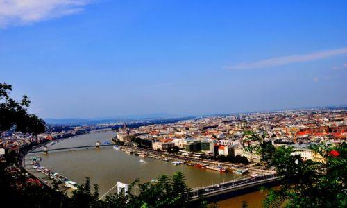Zdjecie WĘGRY / Budapeszt / Wzgórze Gellerta / Widok na miasto