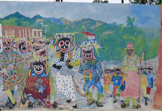 Zdjęcia: Chuao, Carabobo, Mural, WENEZUELA