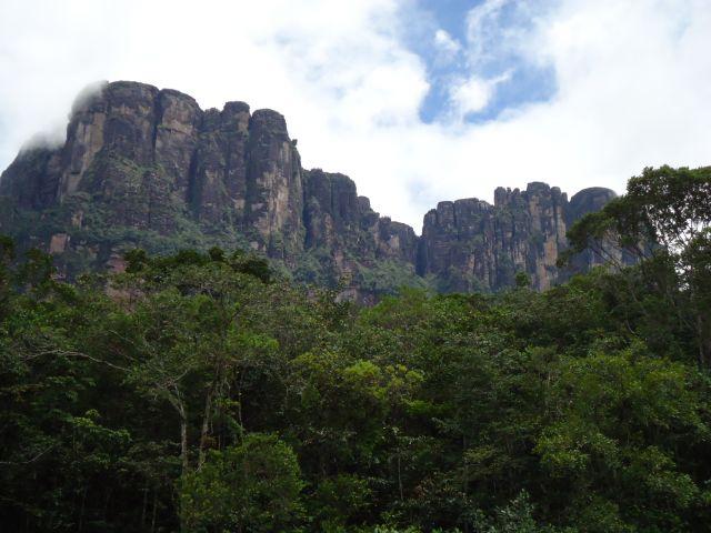 Zdjęcia: Park Narodowy Canaima, Bolivar, Majestat gór, WENEZUELA