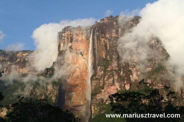 Zdjęcia: salto del Angel, gran sabana, najwyzszy wdospad swiata, WENEZUELA