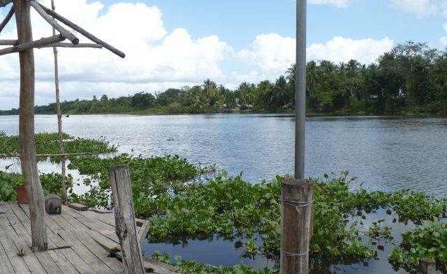 Zdjęcia: Przystań nad rzeką, -delta Orinoko, Przystań na Orinoko, WENEZUELA