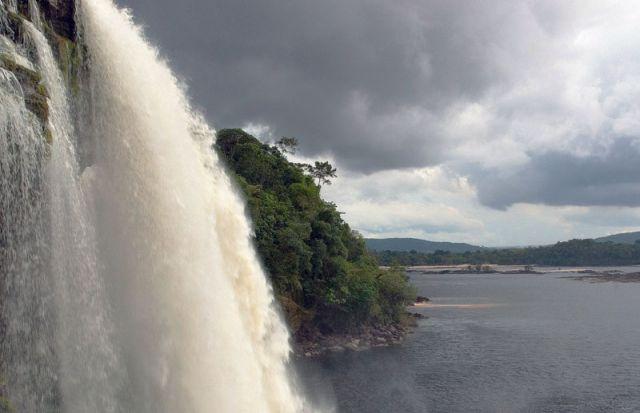 Zdj�cia: Wodospad SANTO ANGEL, CANAIMA, WENEZUELA