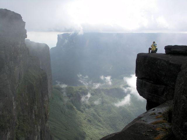 Zdjęcia: Roraima, Panorama z Roraimy, WENEZUELA