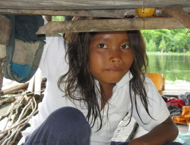 Zdjęcia: Delta Orinoko, U indian Warao, WENEZUELA