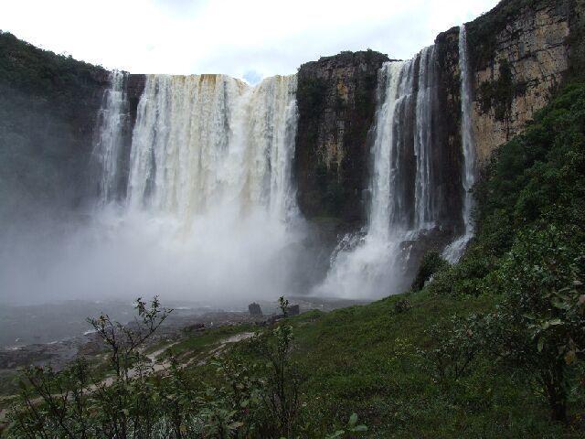 Zdjęcia: Santa Elena, Gran Sabana, Wodospad Aponwao Gran Sabana, WENEZUELA