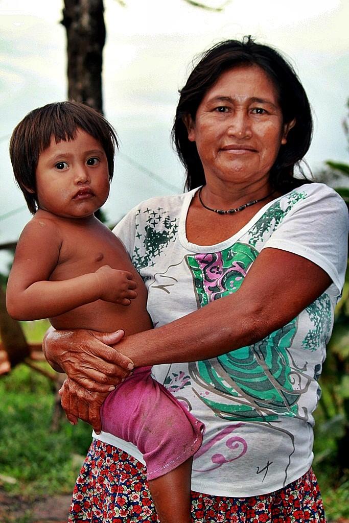Zdjęcia: jw, Delta Orinoko, Indianka, WENEZUELA